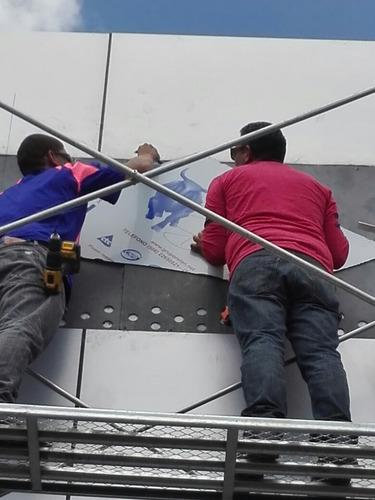 instalación de paneles de aluminio compuesto acm alucobond