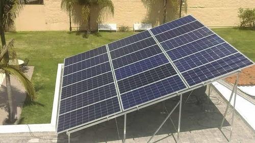 instalación de paneles y bombas de agua solares