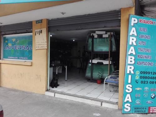 instalación de parabrisas