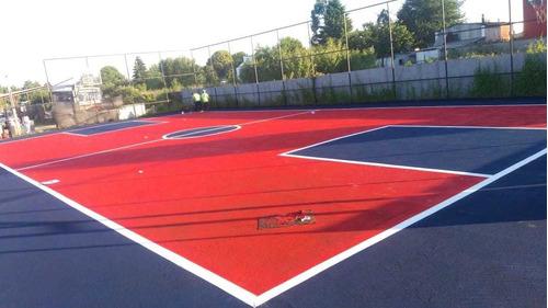 instalacion de piso deportivo exterior