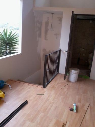 instalación de piso laminado