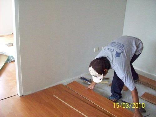 instalacion de piso laminado y madera estructurada