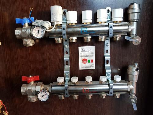 instalación de piso radiante,calderas, radiadores