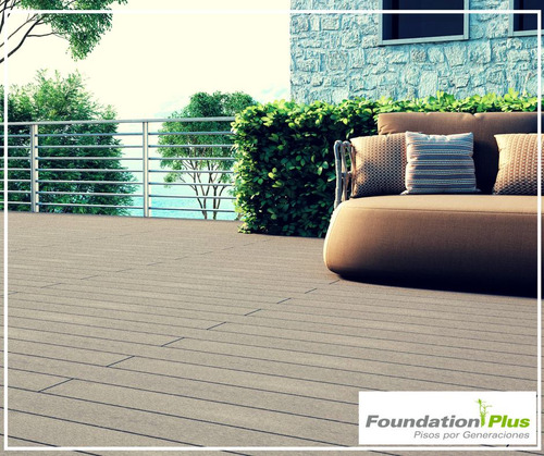 instalación de pisos para exteriores tipo deck