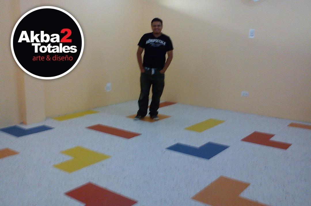 Instalaci n de pisos vinilicos pisopak y laminado en rollo - Instalacion piso vinilico en rollo ...