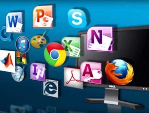 instalación de programas en windows 10, ofimática y otros.