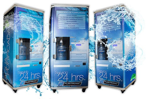 instalacion de purificadoras de agua