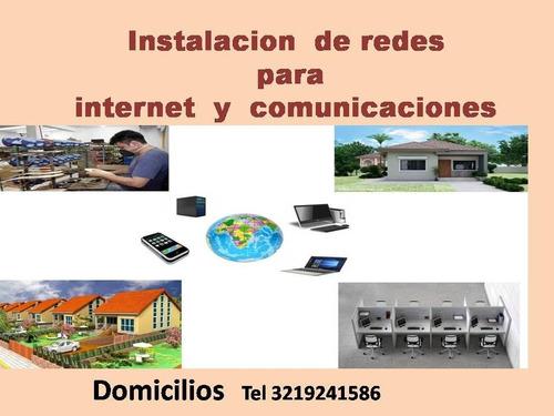instalacion  de redes de internet  y comunicaciones bogota