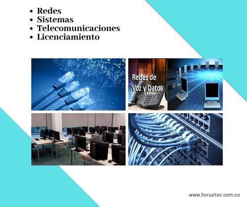 instalación de redes - telecomunicaciones - sistemas