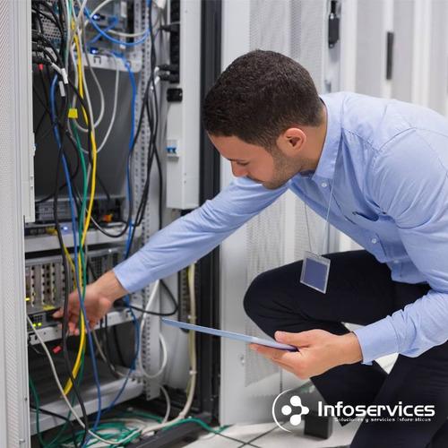 instalacion de redes, wifi y fibra optica infoservices