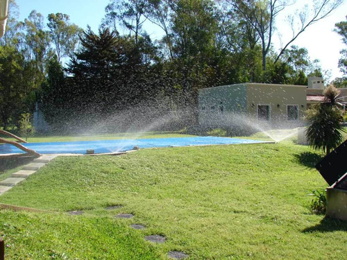 instalación de riego por aspersión y goteo. riego automatico