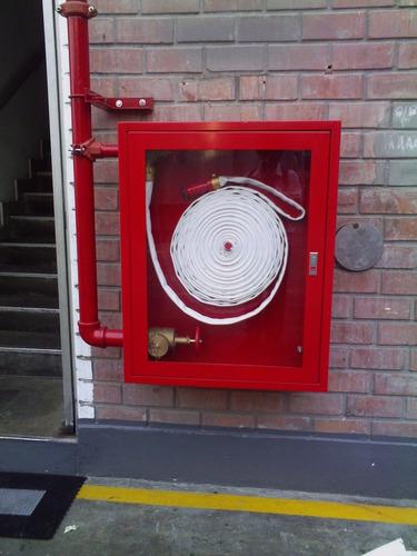 instalacion de rociadores, detectores de humo , sensores de