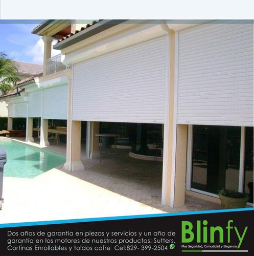 instalación de shutters