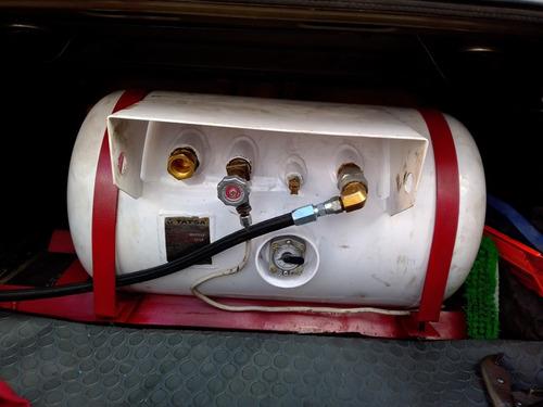 instalación de sistema de gas lp para autos
