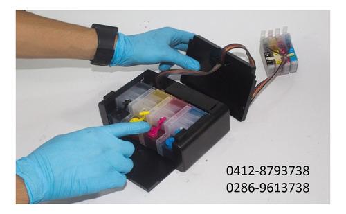 instalacion de sistema de tinta continua epson