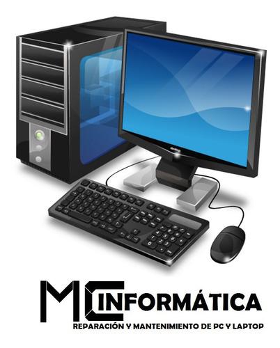 instalación de sistema operativo y office