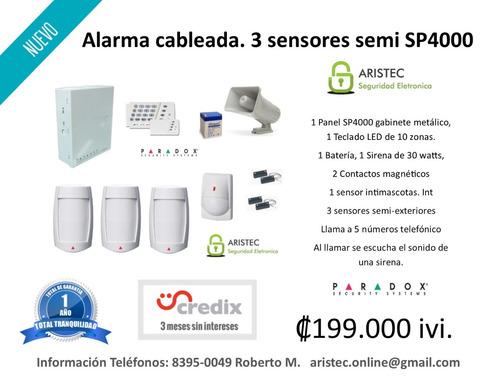 instalación de sistemas de alarmas profesionales. para casas