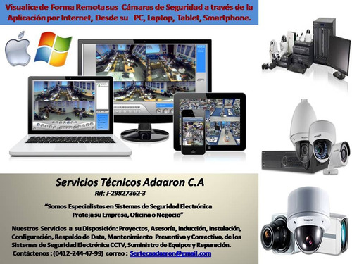 instalación de sistemas de seguridad y  mantenimiento preven