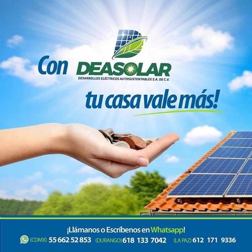instalación de sistemas solares para ahorro de energía ele