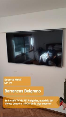 instalación de soporte tv