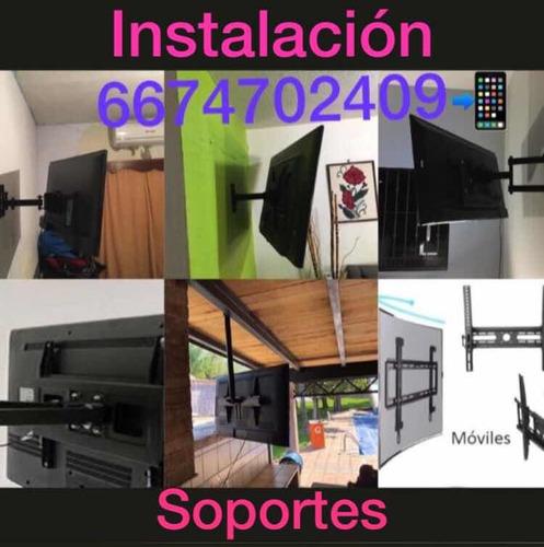 instalación de soportes para pantallas trabajos garantizados
