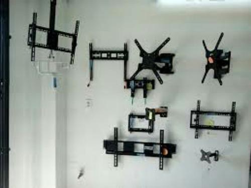 instalación de soportes para tv,repisas,persianas y cortinas