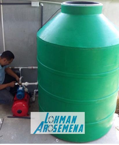 instalacion de tanques de reserva y sistemas de agua