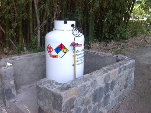 instalacion de tanques para almacenaje de gas licuado glp