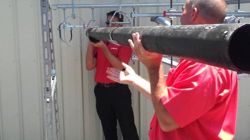 instalacion de tuberias y reparacion de equipos de gas