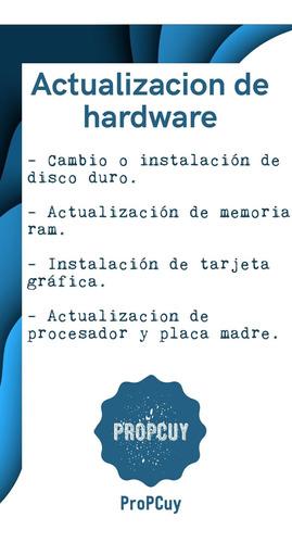 instalación de windows 10, formateo de pc y más