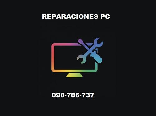 instalación de windows,limpieza,reparaciones pc