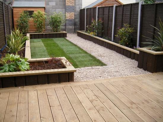 Instalaci n deking terrazas en mercado libre for Piedras para patios exteriores