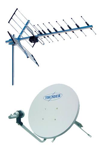 instalacion directv kit prepago - antenas - kit satelital hd