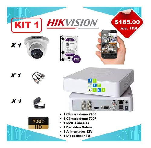 instalacion dvr 4 canales 8 hikvision cctv camaras seguridad