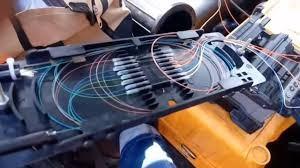 instalacion, empalmado y conexionado fibra optica, ftth