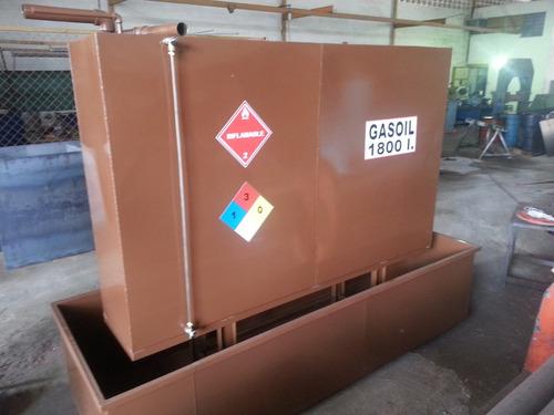 instalación, fabricación de tanques para gasoil,  gasolina.
