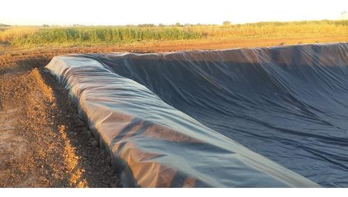 instalacion geomembrana polietileno lagunas piletas tanques