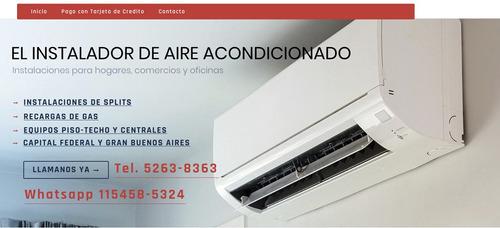 instalacion instalador aire acondicionado materiales incluye