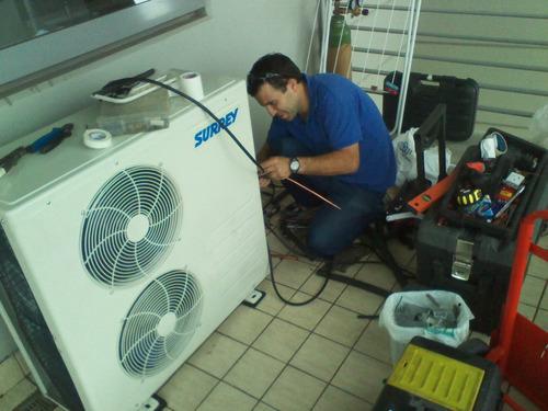 instalacion instalador aire acondicionado split 410 inverter