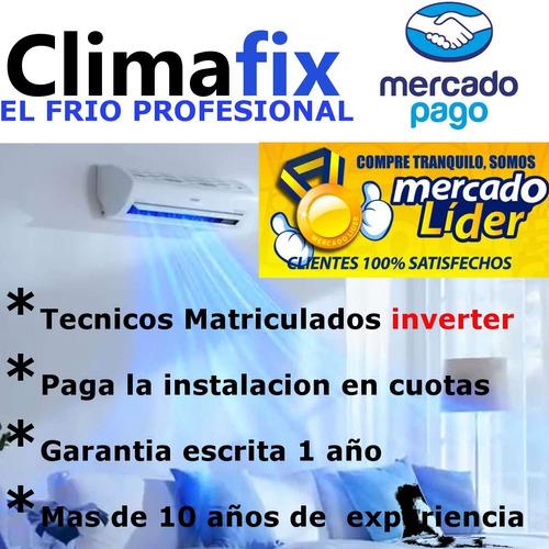 instalacion instalador split aire acondicionado matriculado