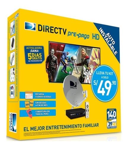instalación kit-direct tv-prepago hd-todo lima e iks newcamd