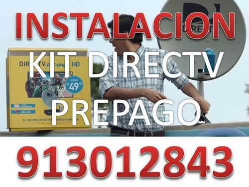 instalacion kit directv prepago lima y callao