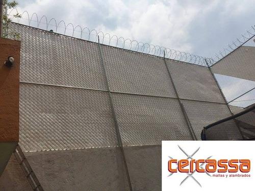 instalación malla ciclónica, cerca eléctrica, reja deacero