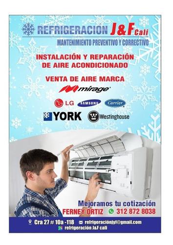 instalación mantenimiento aire acondicionado