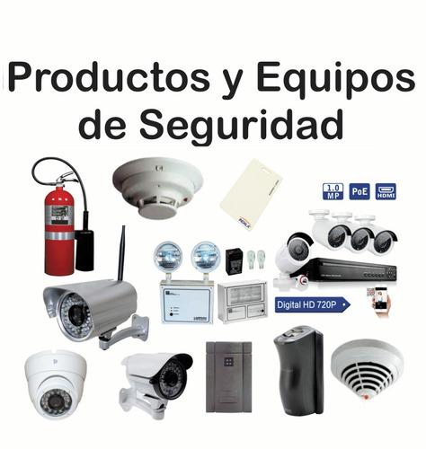 instalación, mantenimiento, cámaras, detección de incendio