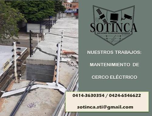 instalación, mantenimiento y reparación de cercado electrico