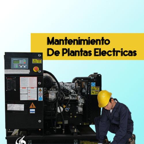 instalacion mantenimiento y reparacion de plantas electricas