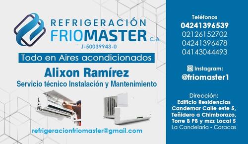 instalación mantenimiento y servicio técnico aires