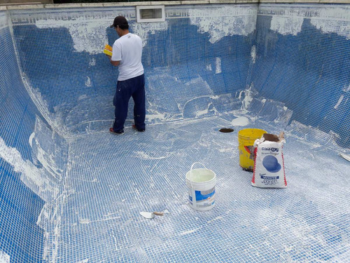 instalacion mosaico veneciano, pastina, colocación-atermicos