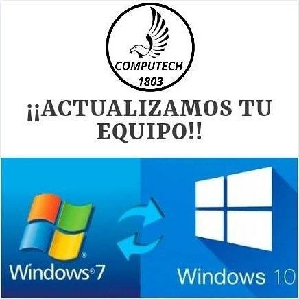 instalación o actualización sistema para laptop's o pc's
